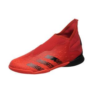 Predator Freak .3 Laceless Indoor Fußballschuh Kinder, rot / schwarz, zoom bei OUTFITTER Online