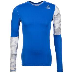 Activchill Graphic Compression Trainingsshirt Herren, Blau, zoom bei OUTFITTER Online