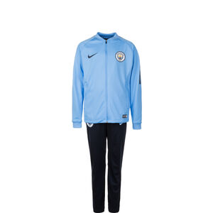 Manchester City Dry Squad Trainingsanzug Kinder, Blau, zoom bei OUTFITTER Online