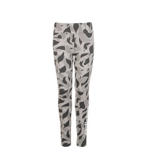 Graphic Linear Leggings Kinder, Grau, zoom bei OUTFITTER Online