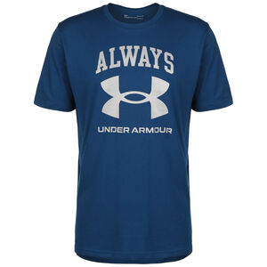 Always Under Armour Trainingsshirt Herren, blau / weiß, zoom bei OUTFITTER Online