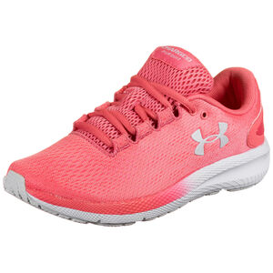 Charged Pursuit 2 Laufschuh Damen, pink / weiß, zoom bei OUTFITTER Online