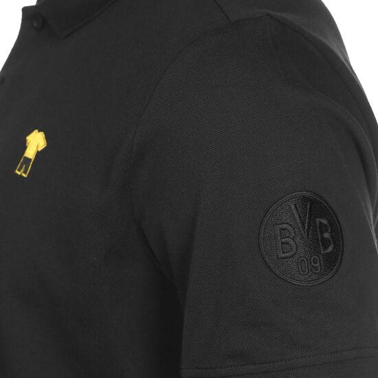 Borussia Dortmund FtblFEAT Game Poloshirt Herren, schwarz / gelb, zoom bei OUTFITTER Online