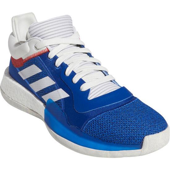 Marquee Boost Low Basketballschuhe Herren, blau / weiß, zoom bei OUTFITTER Online