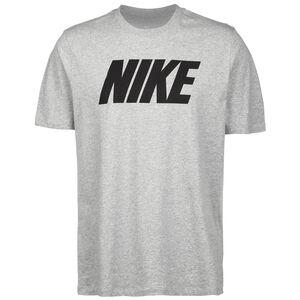 Icon Block T-Shirt Herren, grau / schwarz, zoom bei OUTFITTER Online