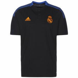 Real Madrid Poloshirt Herren, schwarz / blau, zoom bei OUTFITTER Online