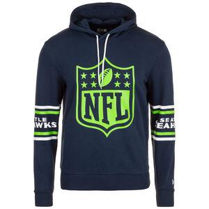 NFL Badge Seattle Seahawks Kapuzenpullover Herren, dunkelblau / hellgrün, zoom bei OUTFITTER Online