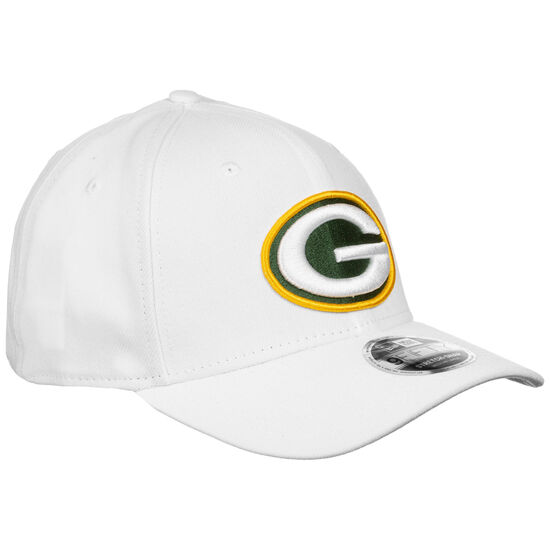 9FIFTY NFL Stretch Green Bay Packers Snapback Cap, weiß / grün, zoom bei OUTFITTER Online