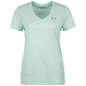 HeatGear Tech Solid Trainingsshirt Damen, Grün, zoom bei OUTFITTER Online