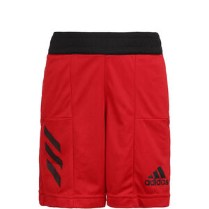 Sport 3-Stripes Basketballshort Kinder, rot, zoom bei OUTFITTER Online