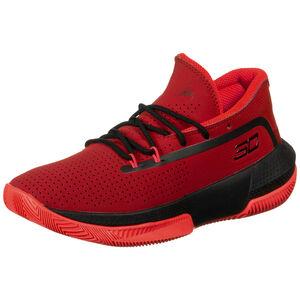 Grade School 3Zero III Basketballschuhe Herren, rot / schwarz, zoom bei OUTFITTER Online