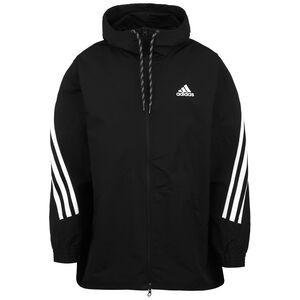 3-Streifen Tape Trainingsjacke Herren, schwarz / weiß, zoom bei OUTFITTER Online