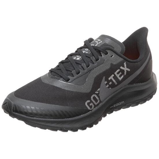 Air Zoom Pegasus 36 Trail GTX Laufschuh Damen, schwarz / orange, zoom bei OUTFITTER Online