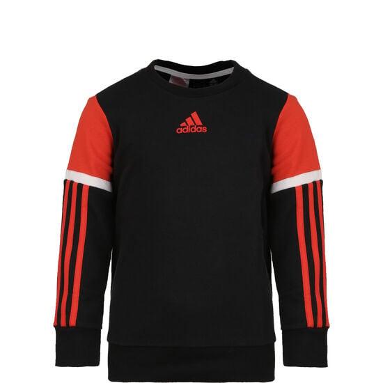 Bold Crew Sweatshirt Kinder, schwarz / rot, zoom bei OUTFITTER Online