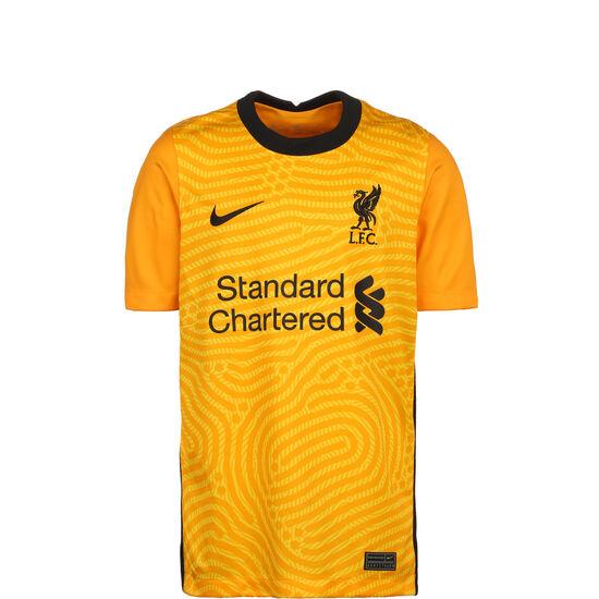 FC Liverpool Torwarttrikot Home Stadium 2020/2021 Kinder, gelb / schwarz, zoom bei OUTFITTER Online