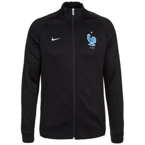 Frankreich Authentic N98 Trainingsjacke Herren, Schwarz, zoom bei OUTFITTER Online