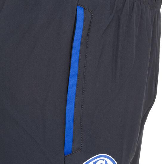 FC Schalke 04 Woven Trainingshose Herren, schwarz / blau, zoom bei OUTFITTER Online
