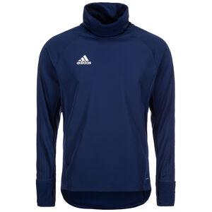 Condivo 18 Warm Top Player Focus Sweatshirt Herren, dunkelblau / weiß, zoom bei OUTFITTER Online