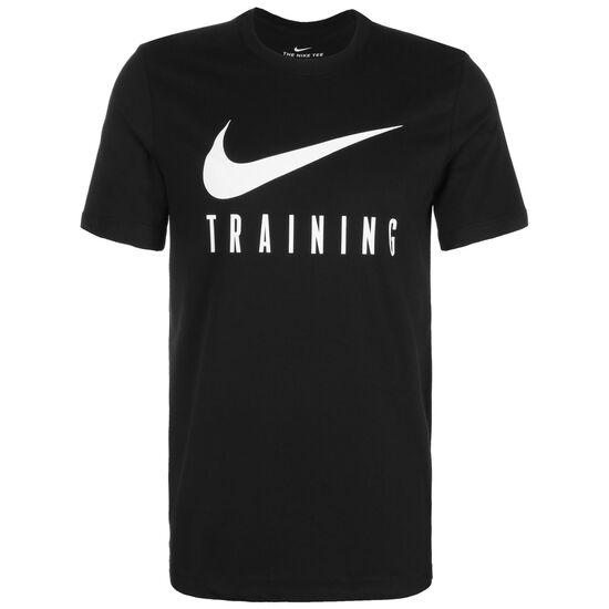 Dry Trainingsshirt Herren, schwarz / weiß, zoom bei OUTFITTER Online
