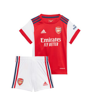 FC Arsenal Minikit Home 2021/2022 Babys, weiß / rot, zoom bei OUTFITTER Online