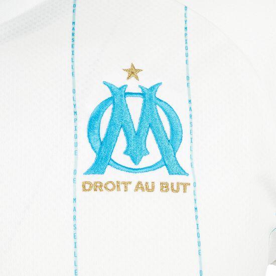 Olympique Marseille Trikot Home 2019/2020 Herren, weiß / hellblau, zoom bei OUTFITTER Online