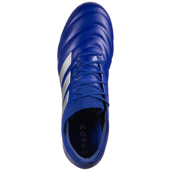 Copa 20.1 FG Fußballschuh Herren, blau / silber, zoom bei OUTFITTER Online
