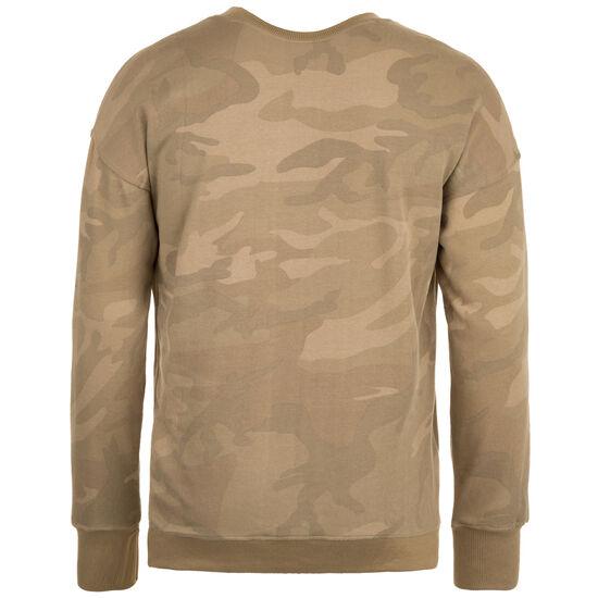 Camo Crewneck Sweatshirt Herren, Gelb, zoom bei OUTFITTER Online