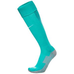 Matchfit Cushioned Sockenstutzen, türkis / weiß, zoom bei OUTFITTER Online