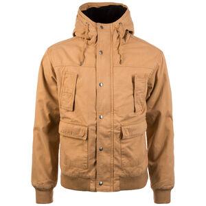 Hooded Cotton Jacke Herren, hellbraun, zoom bei OUTFITTER Online