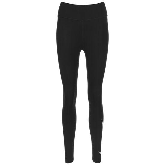 Swoosh Run 7/8 Lauftight Damen, schwarz / weiß, zoom bei OUTFITTER Online