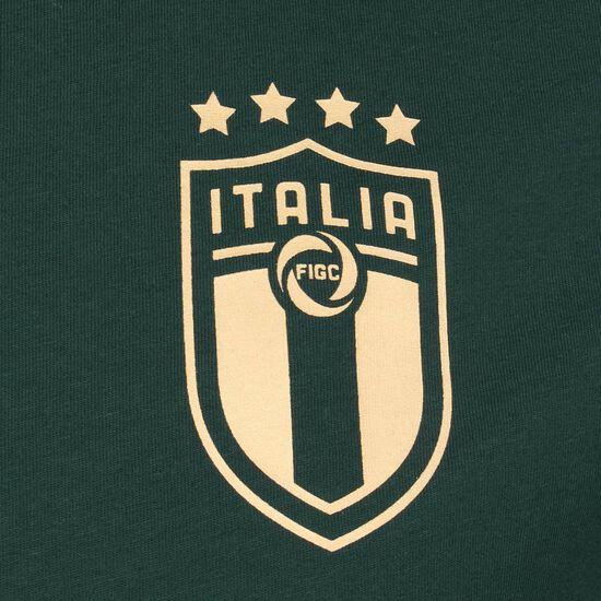 FIGC Italien FtblCulture T-Shirt EM 2020 Herren, dunkelgrün, zoom bei OUTFITTER Online