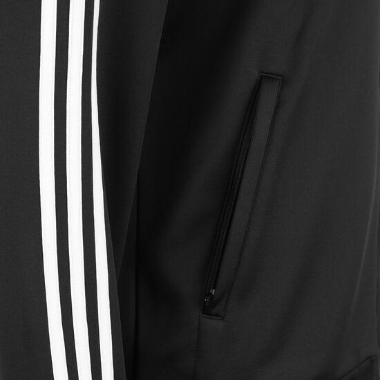 DFB 3-Streifen Trainingsjacke EM 2021 Herren, schwarz / weiß, zoom bei OUTFITTER Online