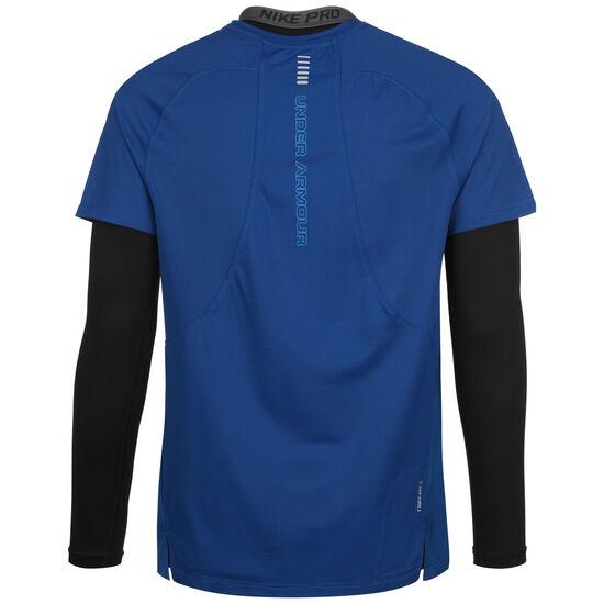 Qualifier Iso-Chill Laufshirt Herren, dunkelblau / blau, zoom bei OUTFITTER Online