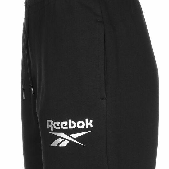Identity Logo Fleece Jogginghose Damen, schwarz, zoom bei OUTFITTER Online