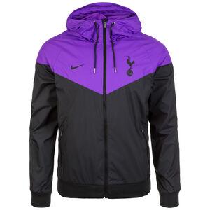 Tottenham Hotspurs Windrunner Kapuzenjacke Herren, schwarz / lila, zoom bei OUTFITTER Online