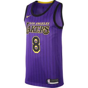 NBA Los Angeles Lakers #8 Bryant Basketballtrikot Herren, lila / gelb, zoom bei OUTFITTER Online