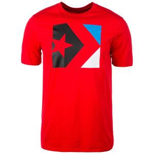 Star Chevron Box T-Shirt Herren, rot, zoom bei OUTFITTER Online
