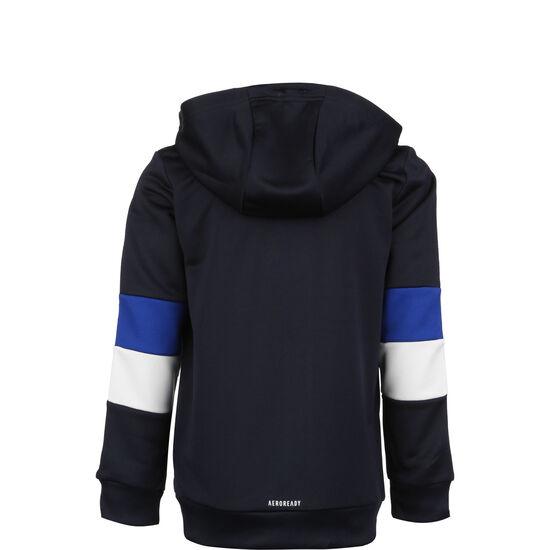 Must Haves Aerodry 3-Stripes Kapuzensweatjacke Kinder, blau / dunkelblau, zoom bei OUTFITTER Online