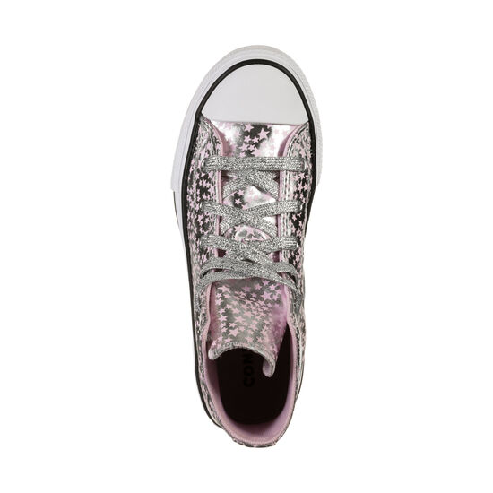 Chuck Taylor All Star Sneaker Kinder, silber / rosa, zoom bei OUTFITTER Online