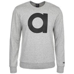 Essentials Branded Crew Sweatshirt Herren, grau / schwarz, zoom bei OUTFITTER Online