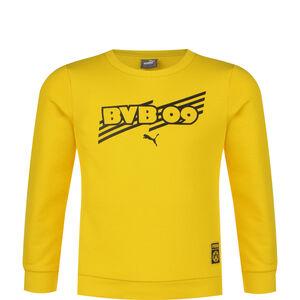 Borussia Dortmund BVB ftblCore Crew Sweatshirt Kinder, gelb / schwarz, zoom bei OUTFITTER Online