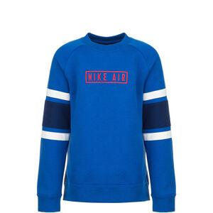 Air Crew Sweatshirt Kinder, blau / dunkelblau, zoom bei OUTFITTER Online