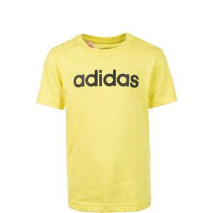 Essentials Linear Trainingsshirt Kinder, gelb / schwarz, zoom bei OUTFITTER Online
