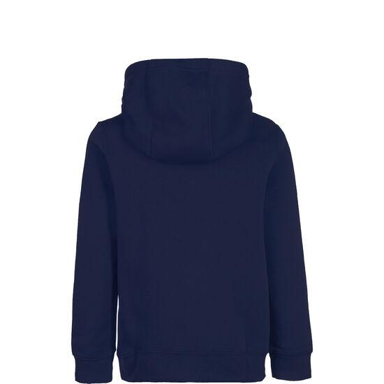 Club19 Fleece TM Kapuzenpullover Kinder, dunkelblau / weiß, zoom bei OUTFITTER Online