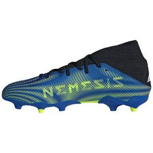 Nemeziz .3 FG Fußballschuh Herren, blau / neongelb, zoom bei OUTFITTER Online