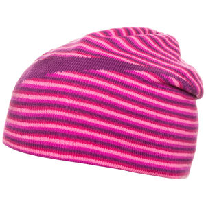 Reversible Beanie Kinder, rosa / lila, zoom bei OUTFITTER Online