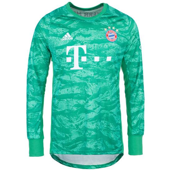 FC Bayern München Torwarttrikot Home 2019/2020 Herren, grün / weiß, zoom bei OUTFITTER Online