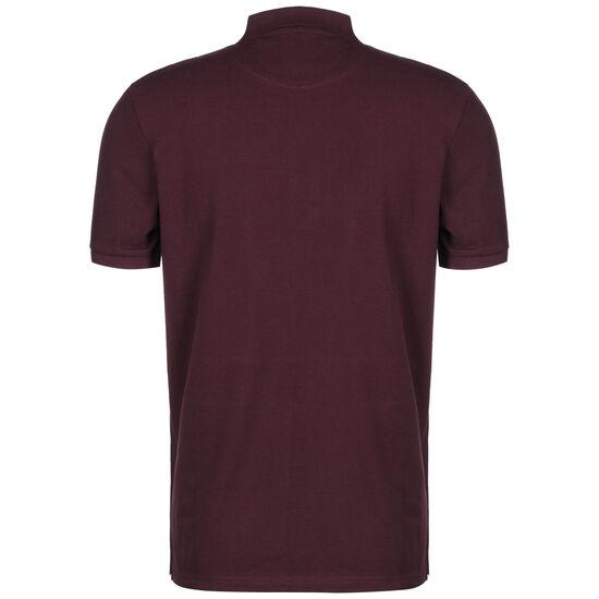 Plain Polo Shirt Herren, bordeaux, zoom bei OUTFITTER Online
