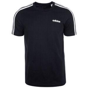 Essentials 3 Stripes Trainingsshirt Herren, schwarz / weiß, zoom bei OUTFITTER Online