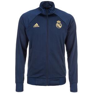Real Madrid Icons Trainingsjacke Herren, dunkelblau / gold, zoom bei OUTFITTER Online